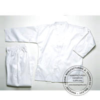 White Karate Uniforms Light Weight